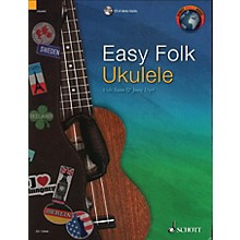 Schott Easy Folk Ukulele (29 Traditional Pieces) String Series Softcover with CD