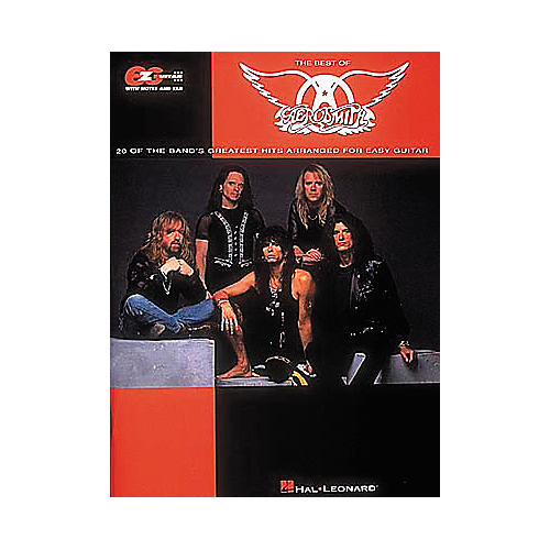 Hal Leonard Easy Guitar - Best Of Aerosmith Guitar Tab Book thumbnail