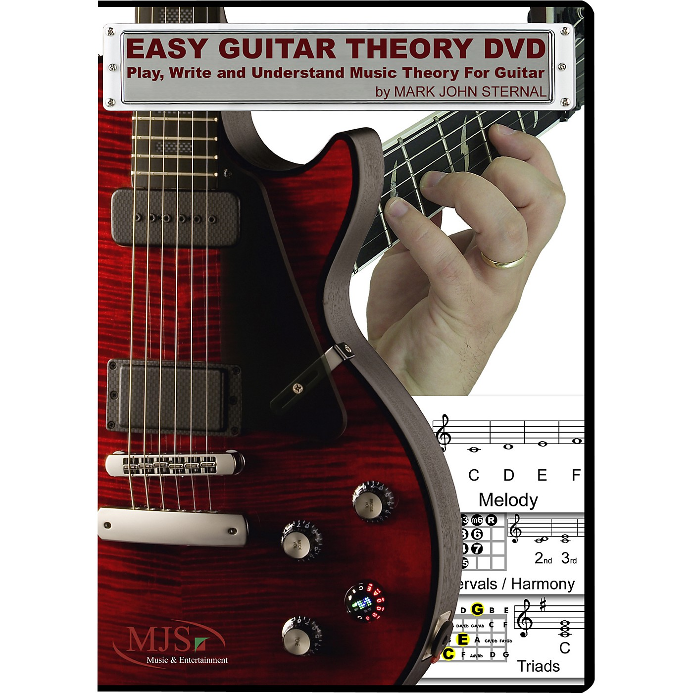 MJS Music Publications Easy Guitar Theory (DVD) thumbnail