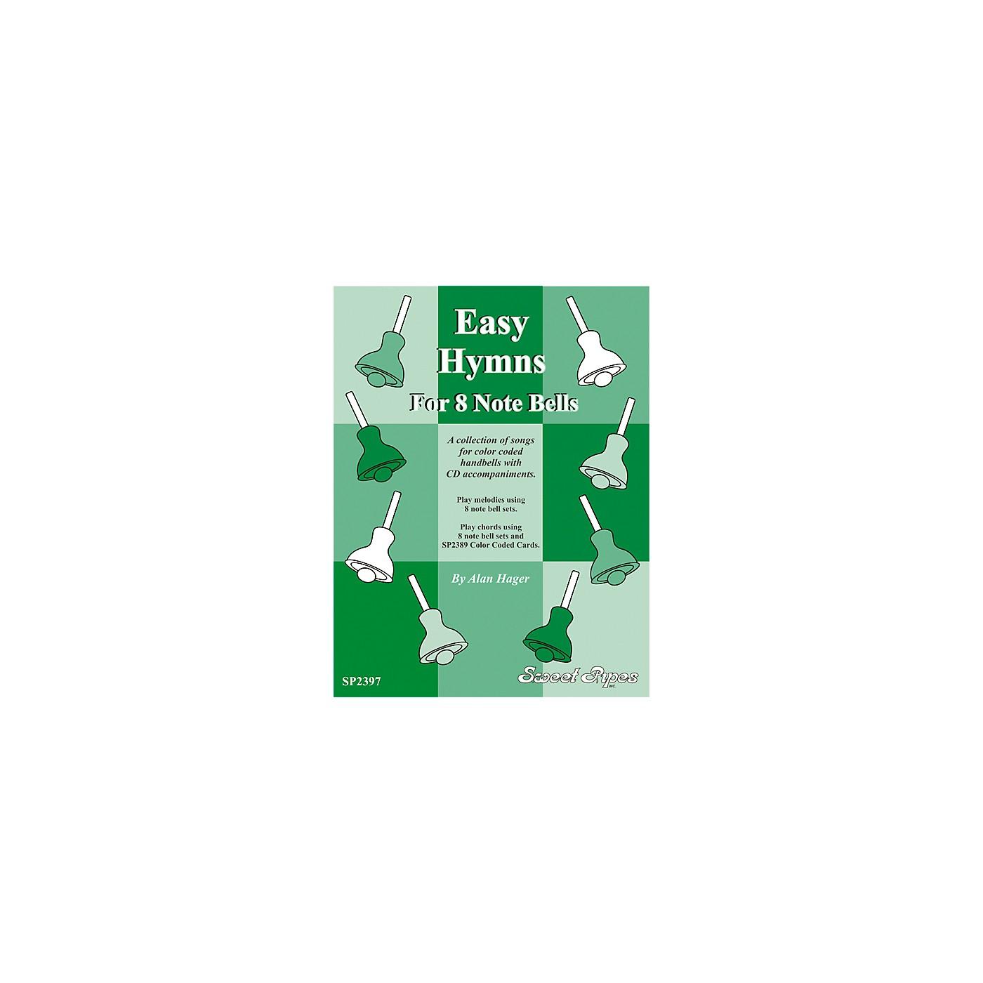 Rhythm Band Easy Hymns - 12 Hymns for 8 Note Handbells & Deskbells Book with CD thumbnail