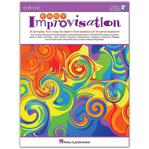 Hal Leonard Easy Improvisation for Oboe Book/Audio Online thumbnail