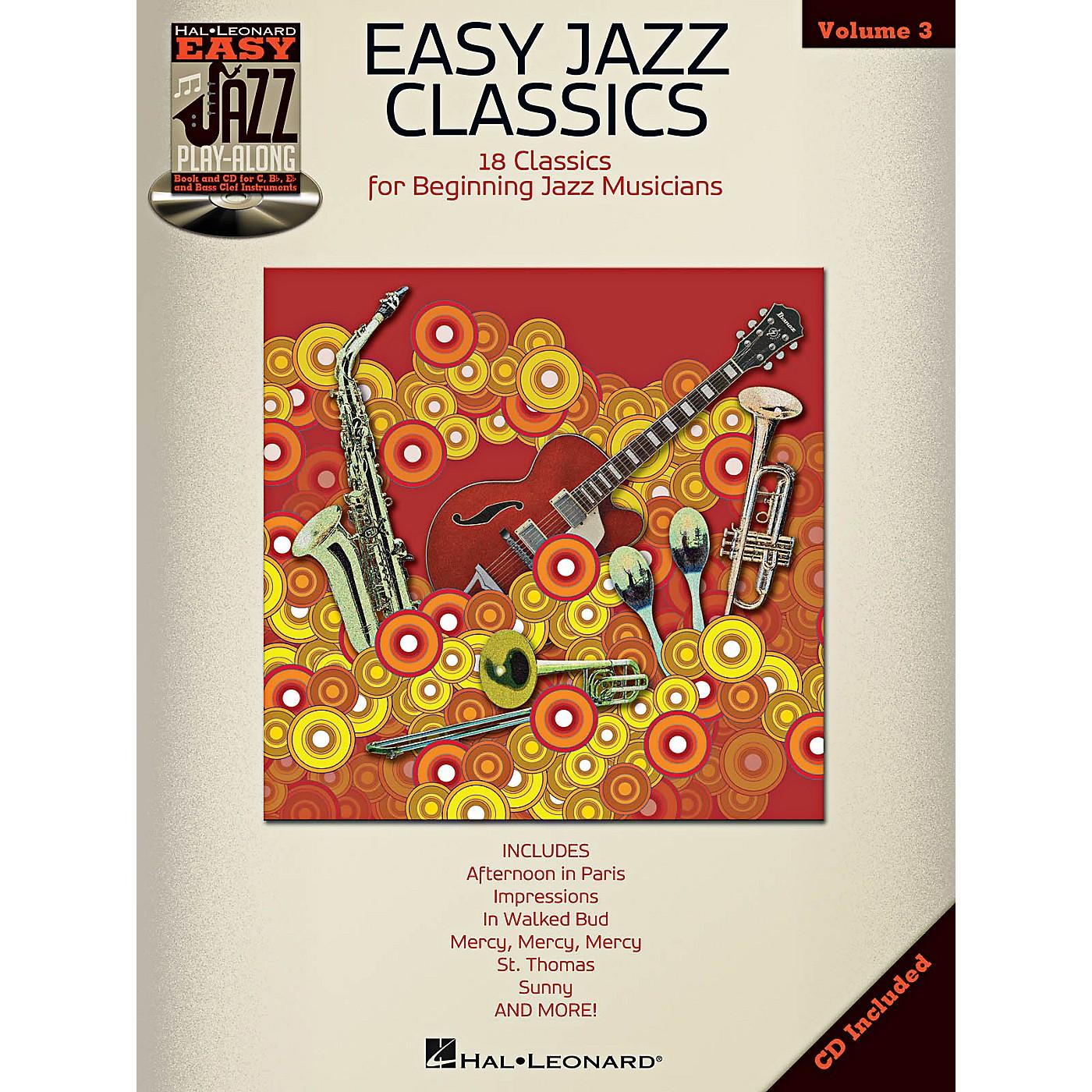 Hal Leonard Easy Jazz Classics - Easy Jazz Play-Along Vol. 3 Book/CD thumbnail