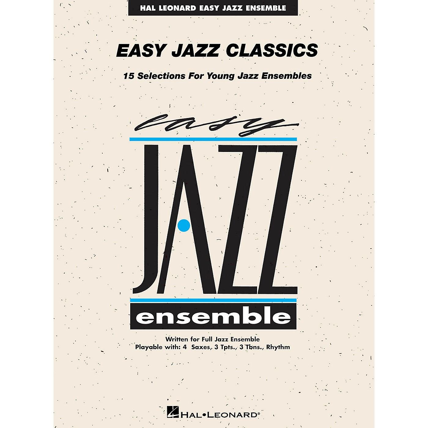 Hal Leonard Easy Jazz Classics - Trombone 4 Jazz Band Level 2 thumbnail
