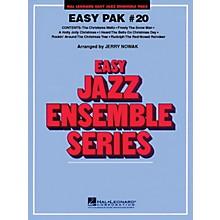 Hal Leonard Easy Jazz Ensemble Pak 20 (Christmas) Jazz Band Level 2 Arranged by Jerry Nowak
