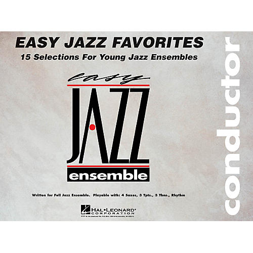 Hal Leonard Easy Jazz Favorites - Conductor Jazz Band Level 2 Composed by Various thumbnail