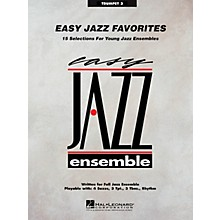 Hal Leonard Easy Jazz Favorites - Trumpet 3 Jazz Band Level 2 Composed by Various