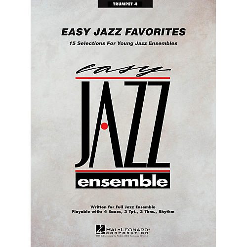 Hal Leonard Easy Jazz Favorites - Trumpet 4 Jazz Band Level 2 Composed by Various thumbnail
