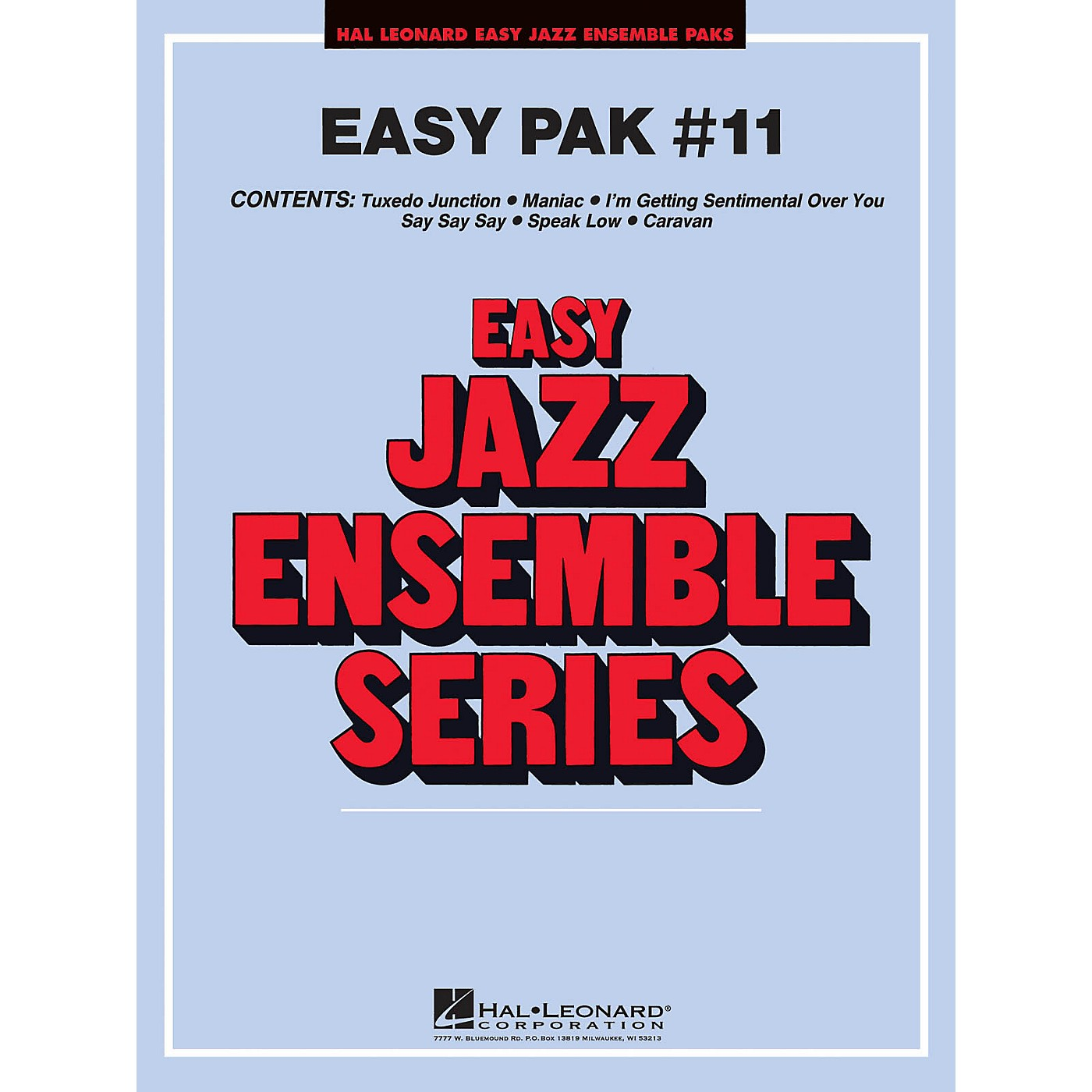 Hal Leonard Easy Jazz Pak 11 CD Jazz Band thumbnail