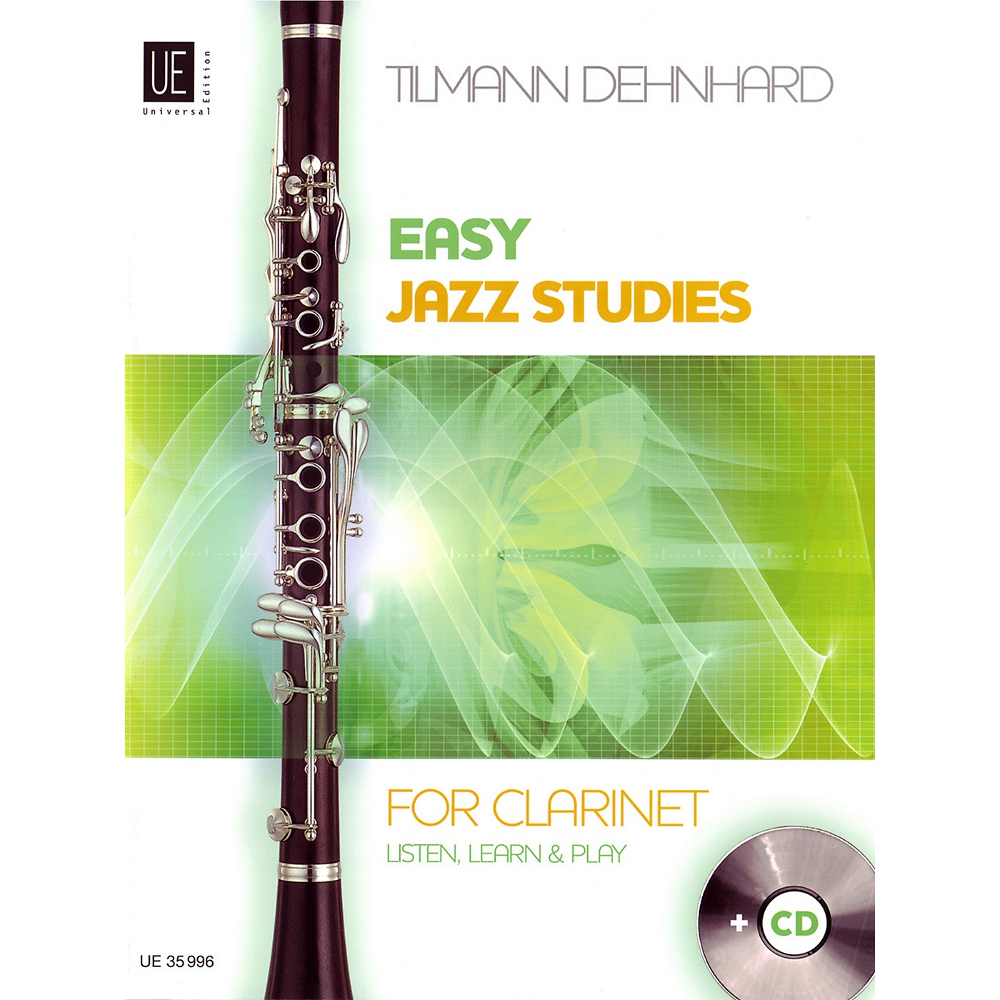 Carl Fischer Easy Jazz Studies For Clarinet Book thumbnail