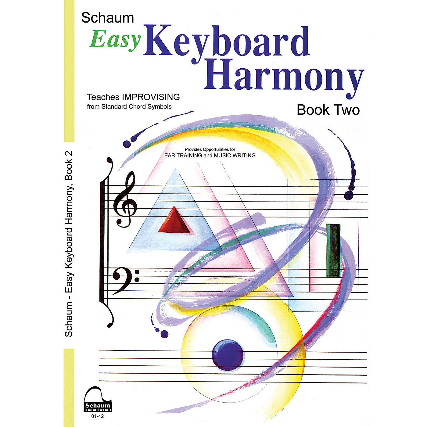 SCHAUM Easy Keyboard Harmony Educational Piano Book by Wesley Schaum (Level Early Inter) thumbnail