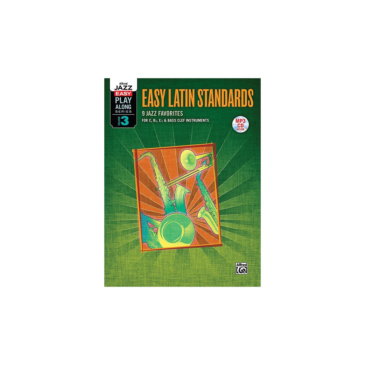 Alfred Easy Latin Standards Flexible Instrumentation Book & CD thumbnail