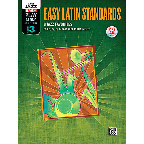 Alfred Easy Latin Standards Flexible Instrumentation Book & CD thumbnail