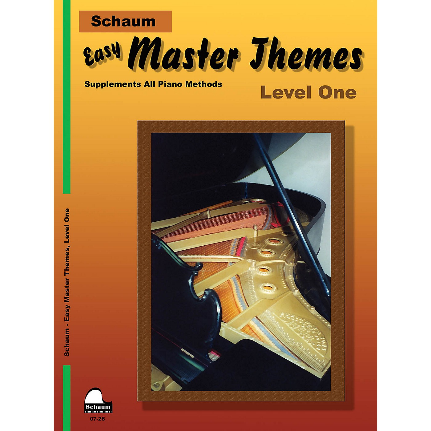 SCHAUM Easy Master Themes, Lev 1 Educational Piano Series Softcover thumbnail