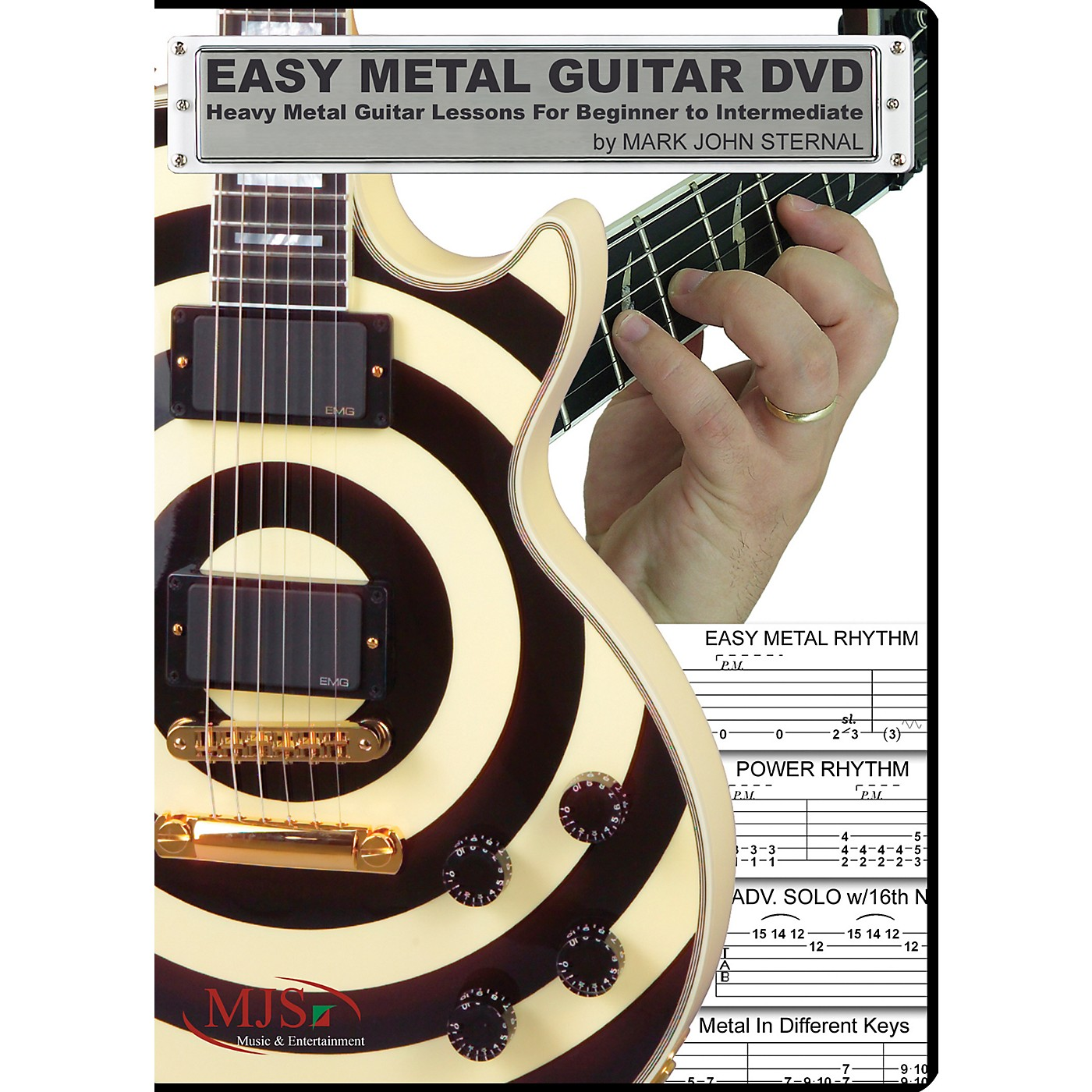MJS Music Publications Easy Metal Guitar (DVD) thumbnail