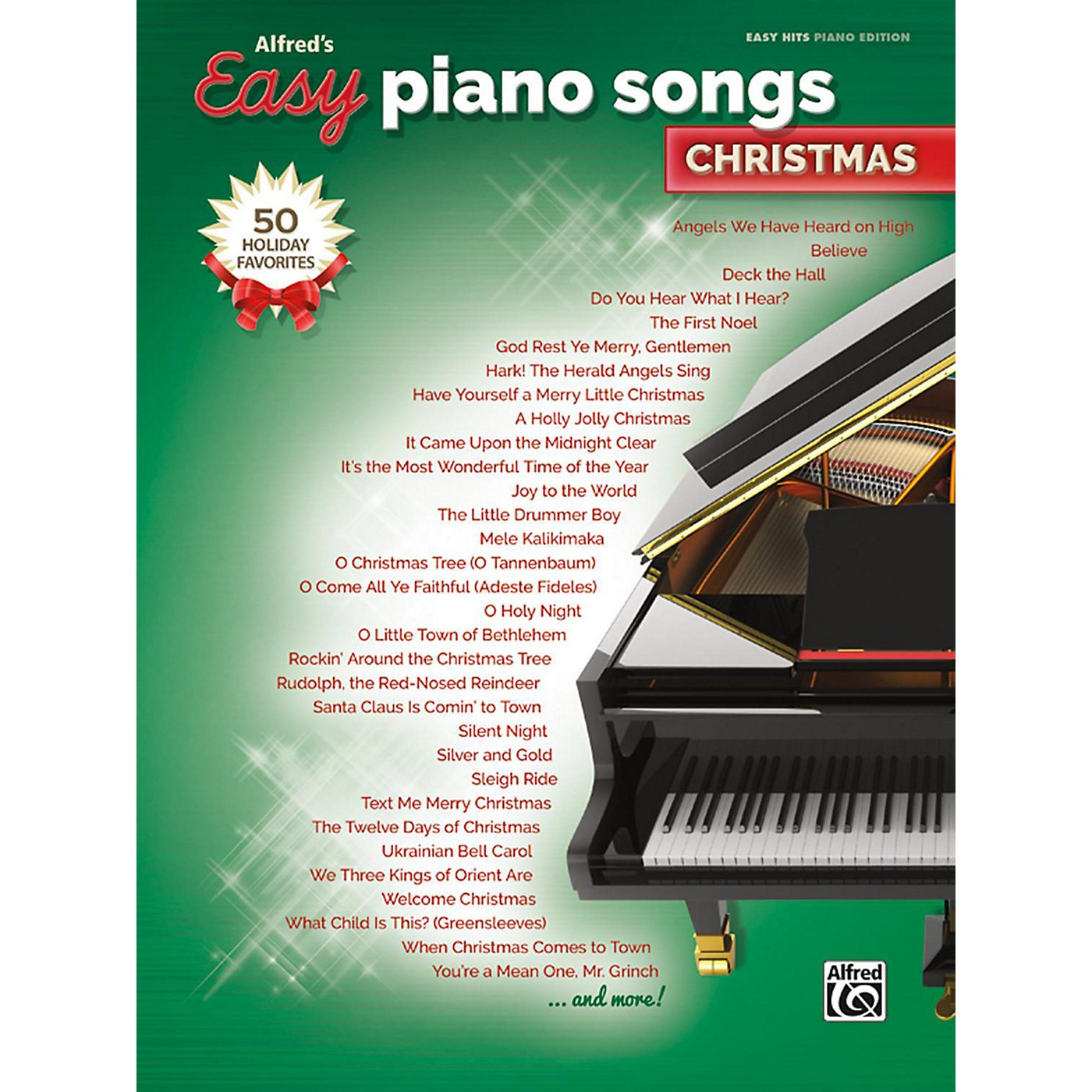 Alfred Easy Piano Songs: Christmas Easy Hits Piano Songbook thumbnail