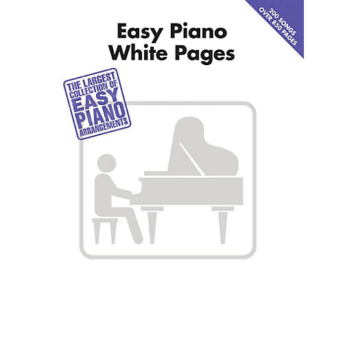 Hal Leonard Easy Piano White Pages thumbnail