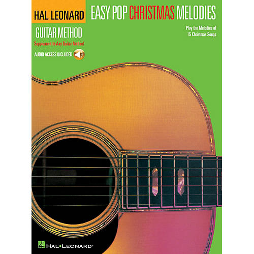 Hal Leonard Easy Pop Christmas Melodies Guitar Method Series Softcover Audio Online Performed by Various thumbnail