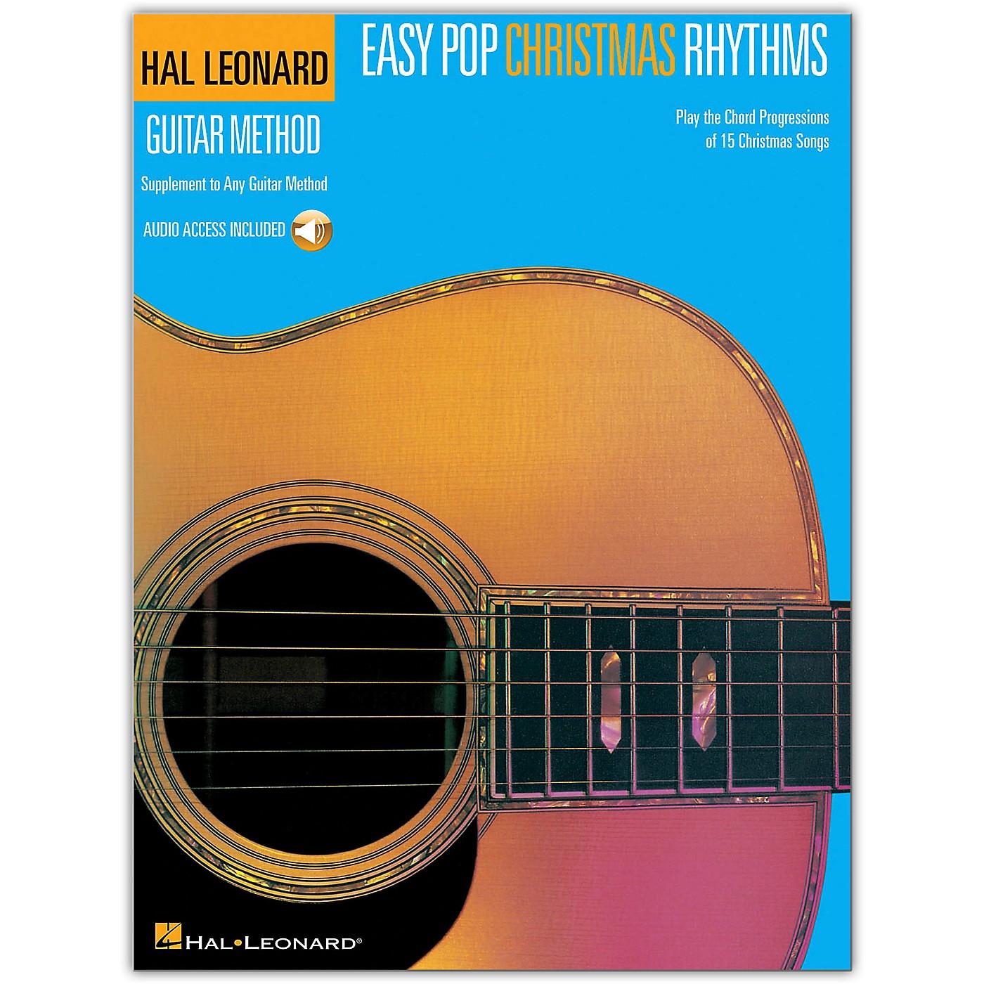 Hal Leonard Easy Pop Christmas Rhythms (Supplement to Any Guitar Method) Book/Audio Online thumbnail