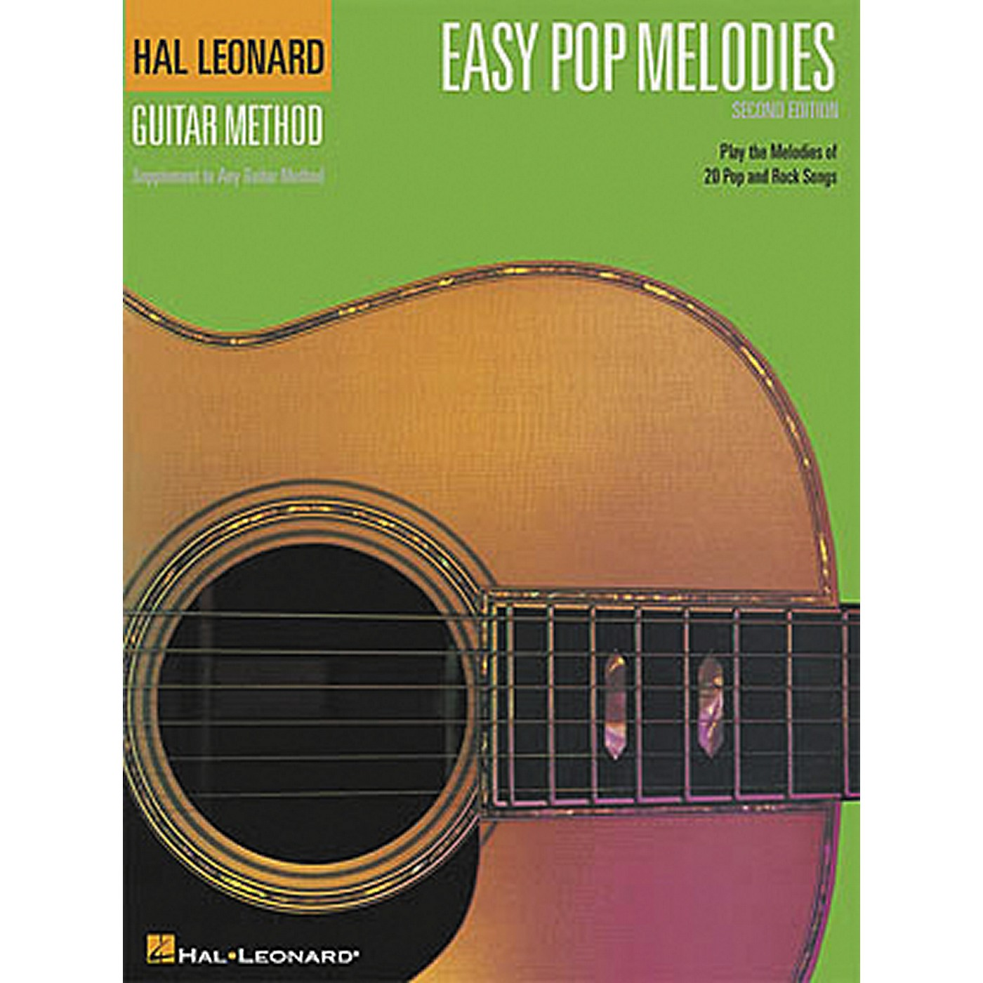 Hal Leonard Easy Pop Melodies - 2nd Edition Guitar Chord Songbook thumbnail