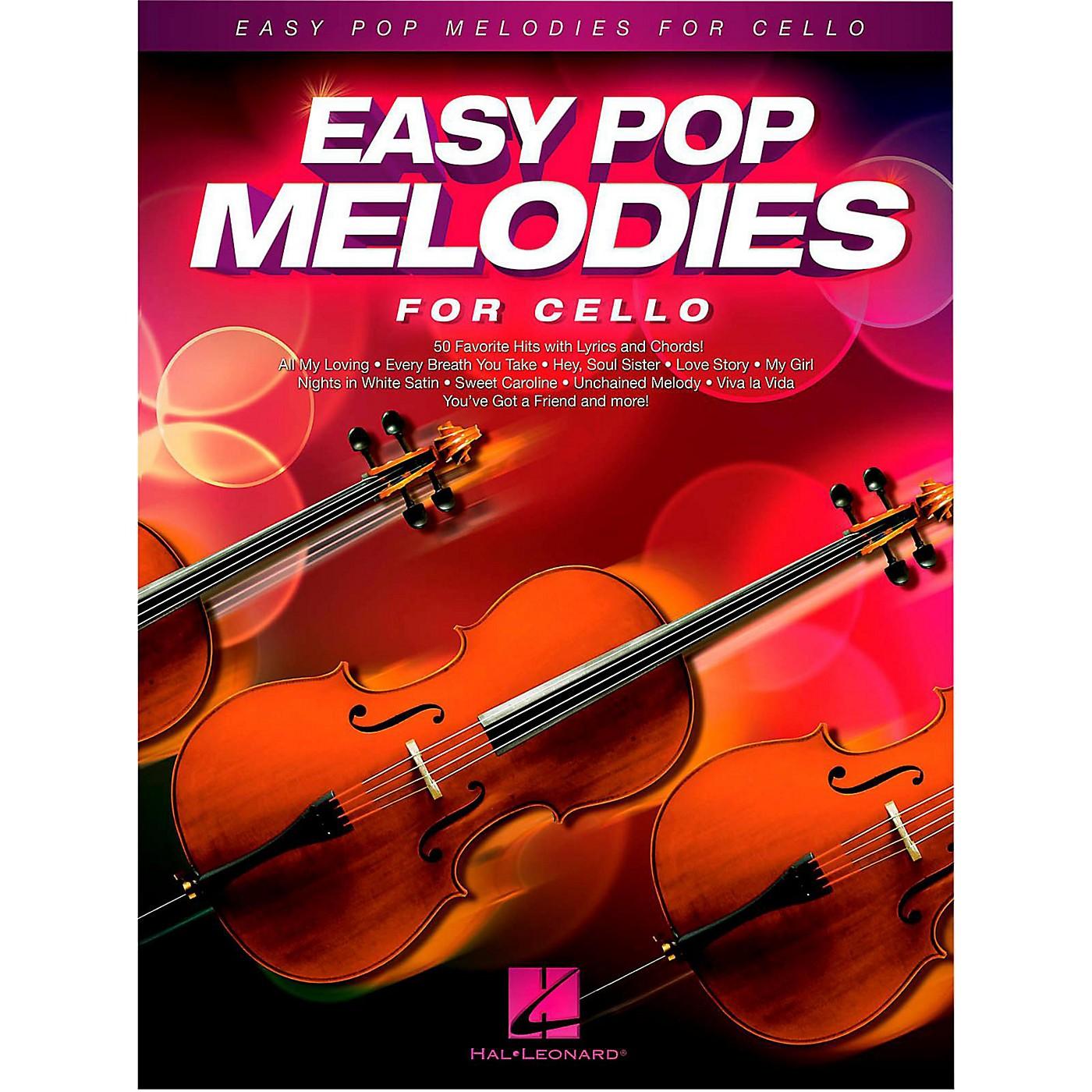 Hal Leonard Easy Pop Melodies For Cello thumbnail