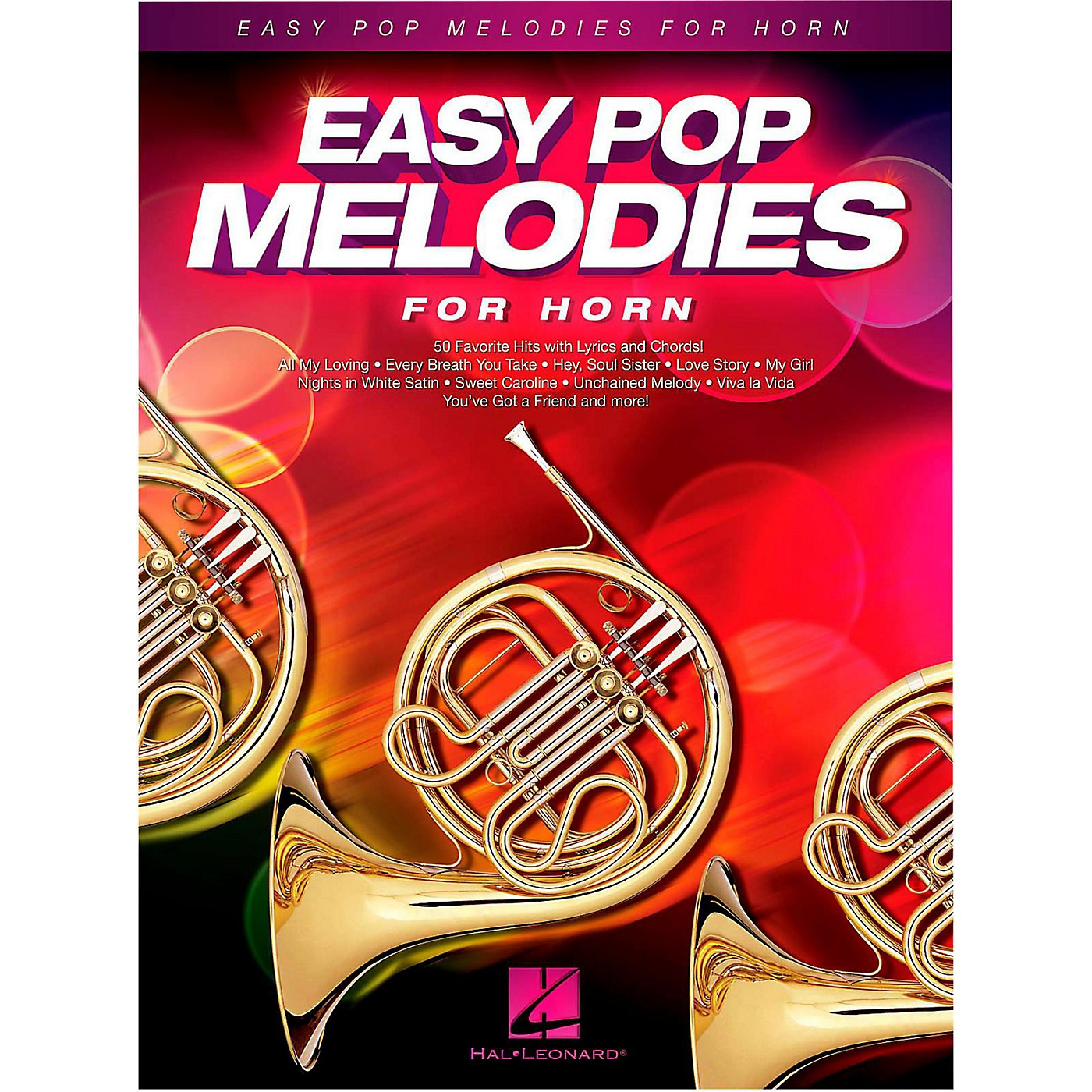 Hal Leonard Easy Pop Melodies For Horn thumbnail