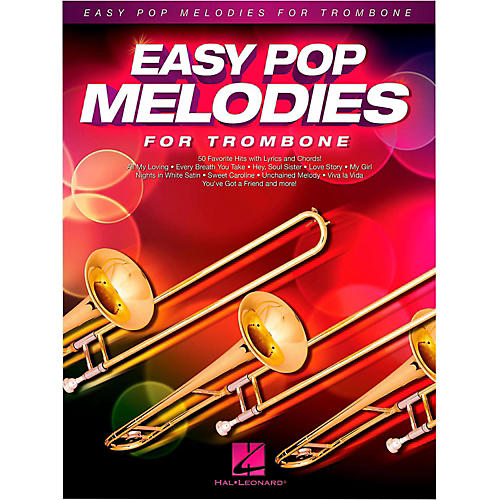 Hal Leonard Easy Pop Melodies For Trombone thumbnail