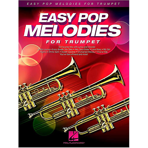 Hal Leonard Easy Pop Melodies For Trumpet-thumbnail