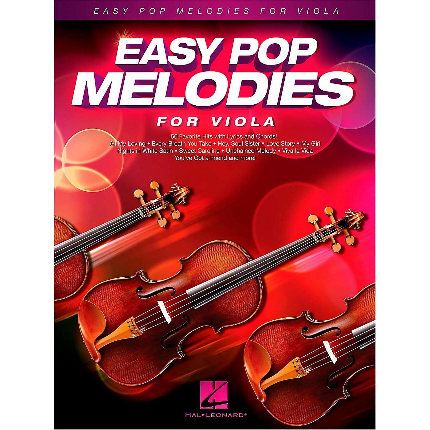 Hal Leonard Easy Pop Melodies For Viola thumbnail