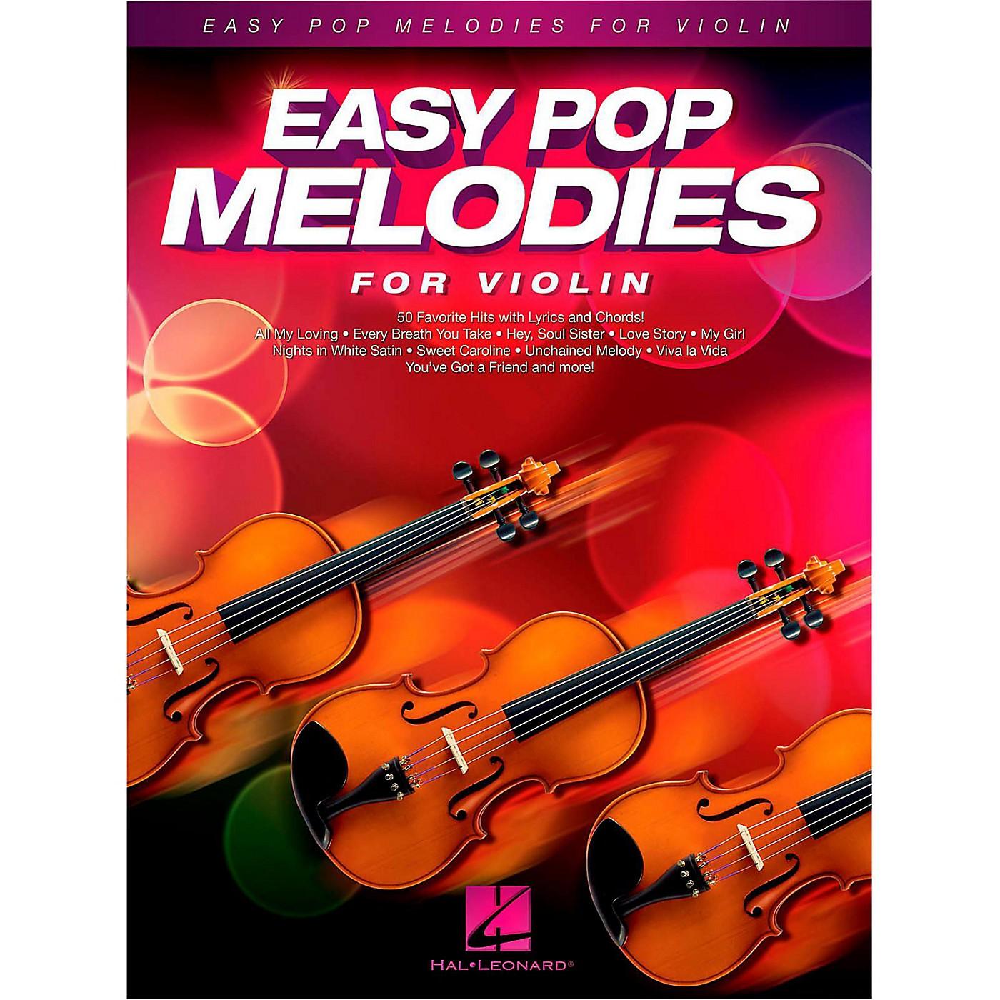 Hal Leonard Easy Pop Melodies For Violin thumbnail