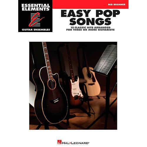Hal Leonard Easy Pop Songs - Essential Elements Guitar Ensembles Series thumbnail