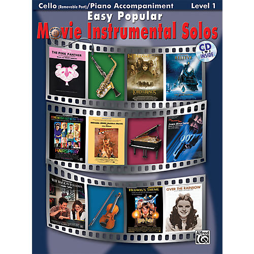 Alfred Easy Popular Movie Instrumental Solos thumbnail