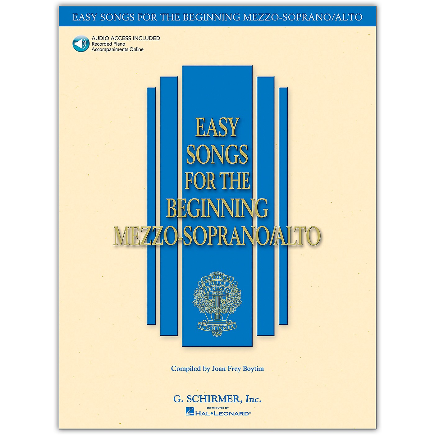 G. Schirmer Easy Songs for The Beginning Mezzo-Soprano / Alto Book/Online Audio thumbnail