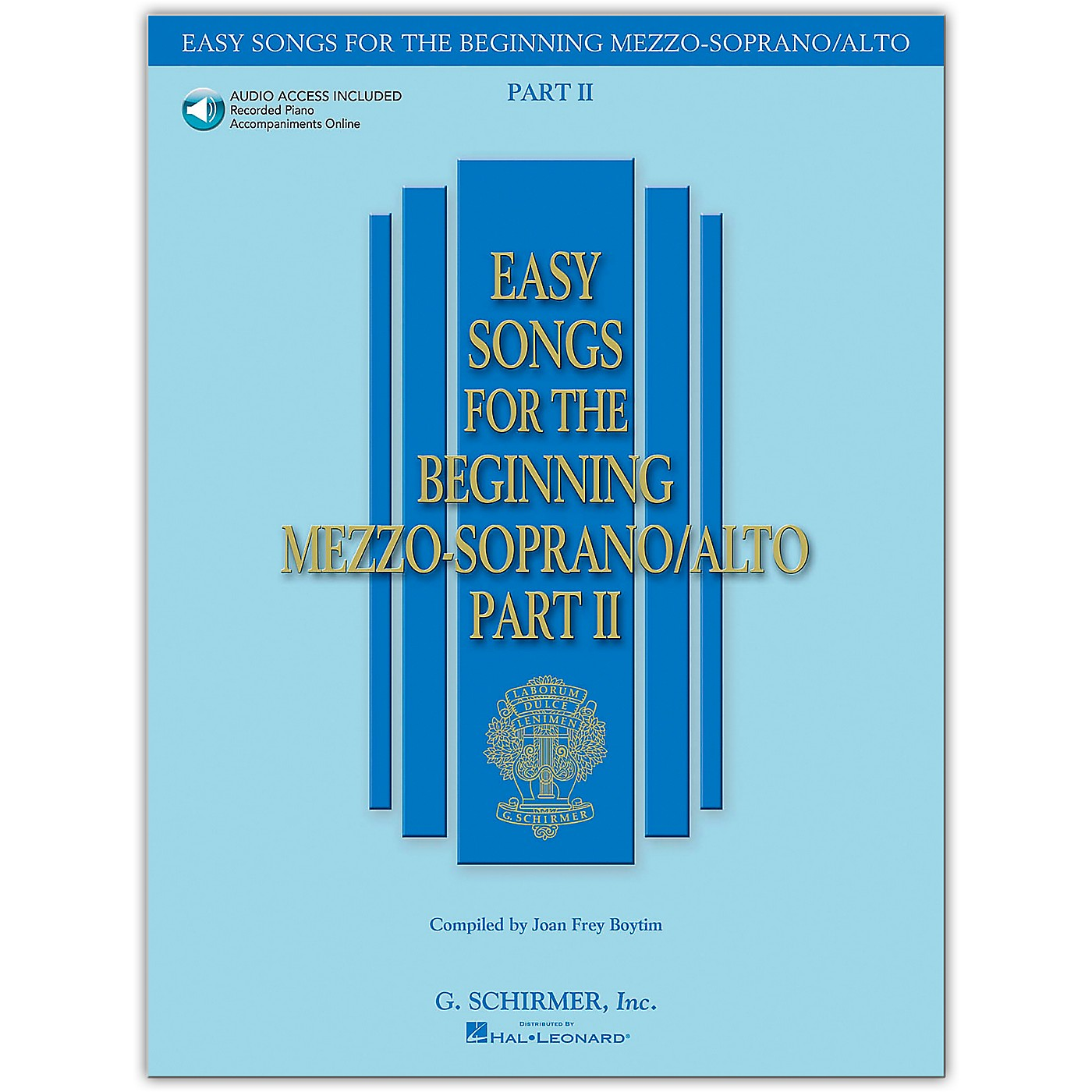 G. Schirmer Easy Songs for The Beginning Mezzo-Soprano / Alto Part II Book/Online Audio thumbnail