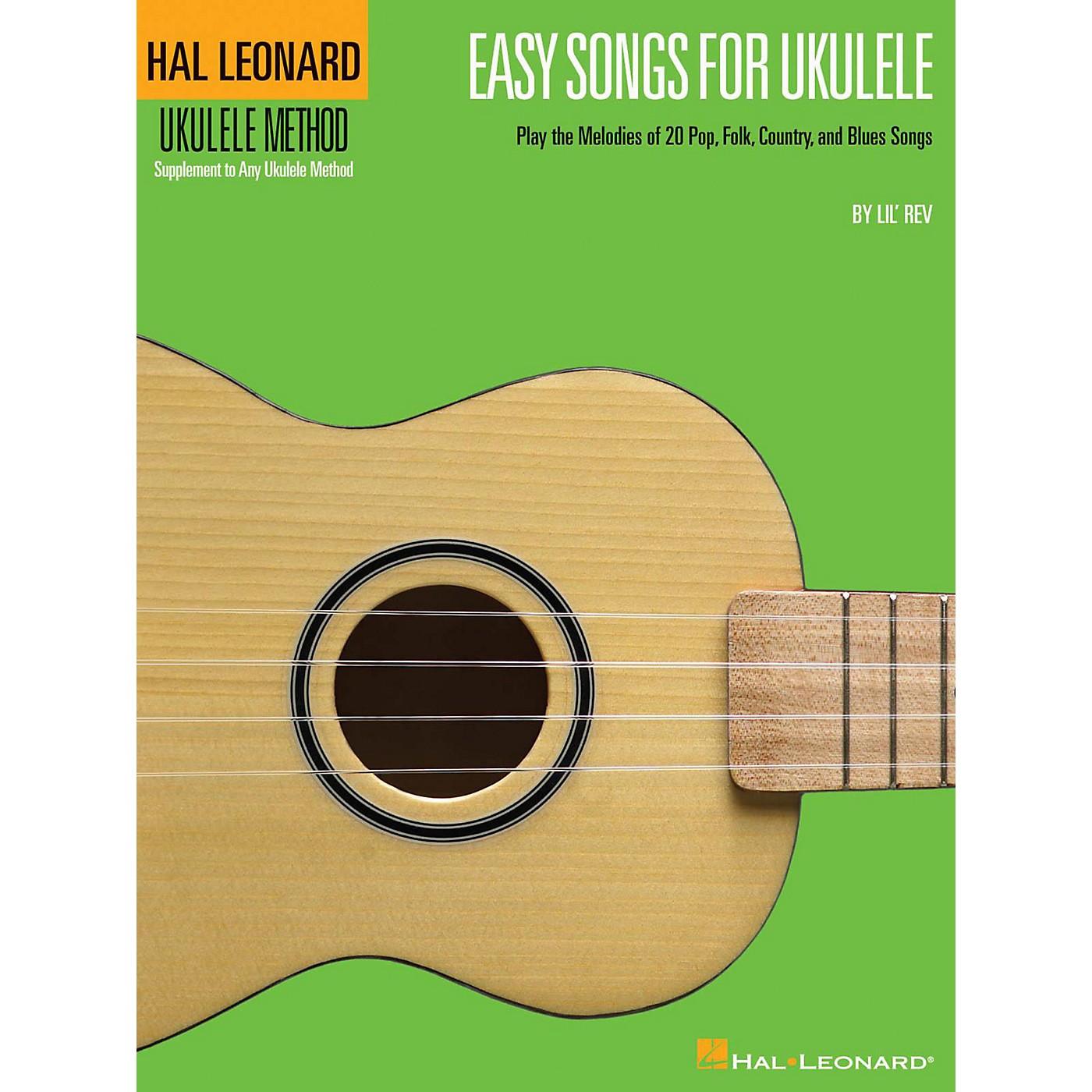 Hal Leonard Easy Songs for Ukulele Book - Supplementary Songbook To The Hal Leonard Ukulele Method thumbnail