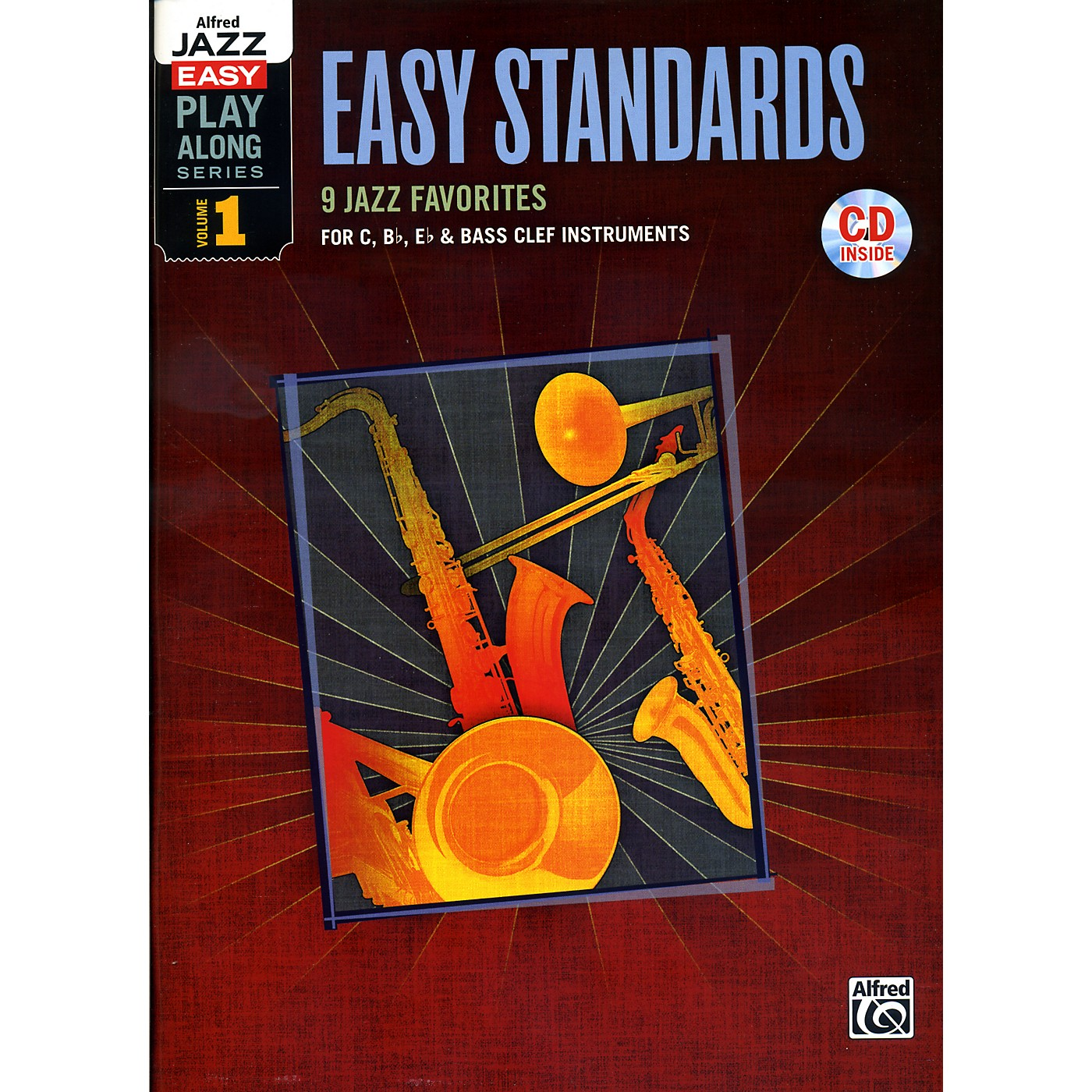 Alfred Easy Standards 1 Flexible Instrumentation Book & CD thumbnail