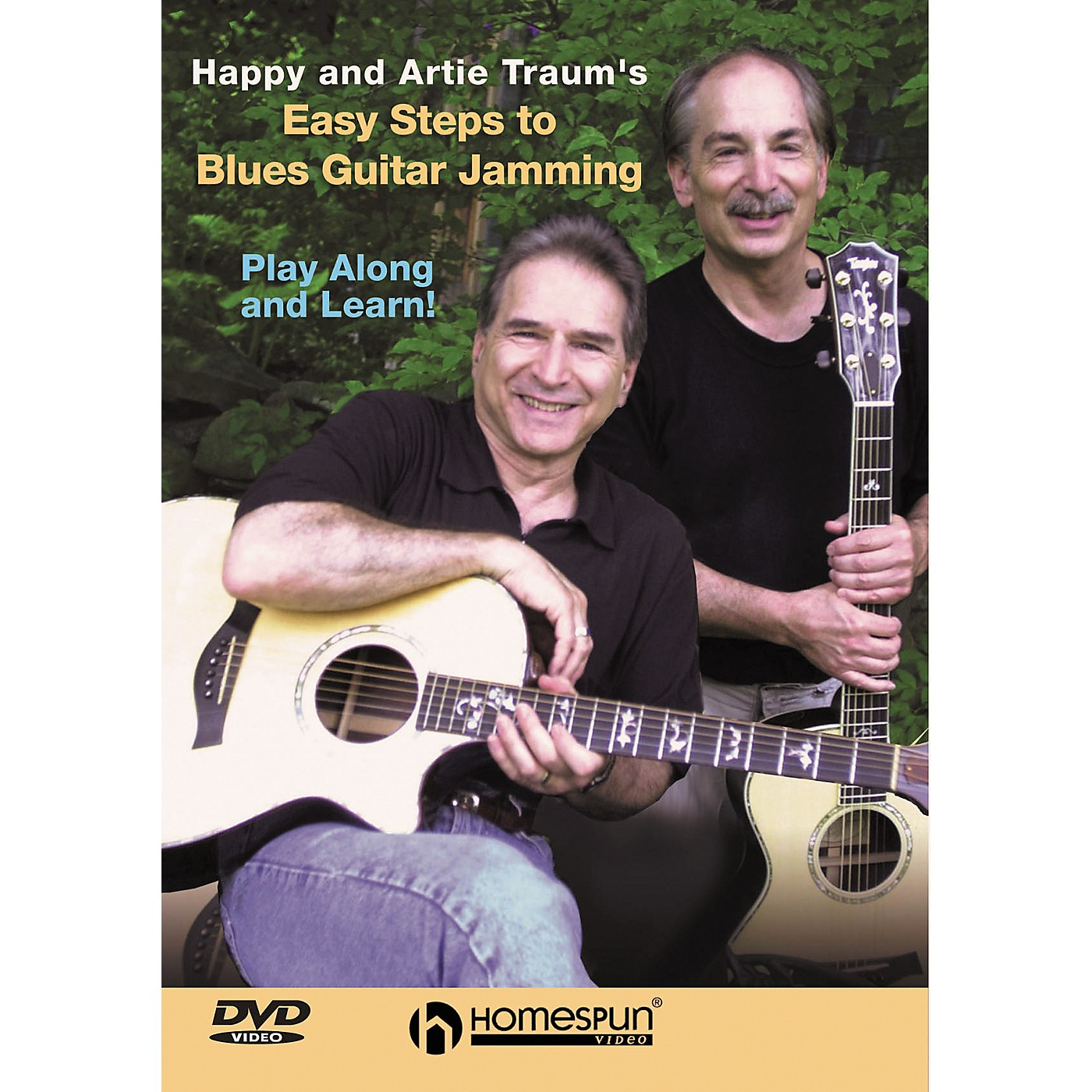 Homespun Easy Steps to Blues Guitar Jamming (DVD) thumbnail