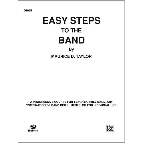 Alfred Easy Steps to the Band Oboe thumbnail