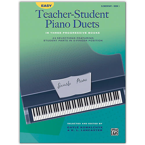 Alfred Easy Teacher-Student Piano Duets in Three Progressive Books, Book 1 Elementary thumbnail