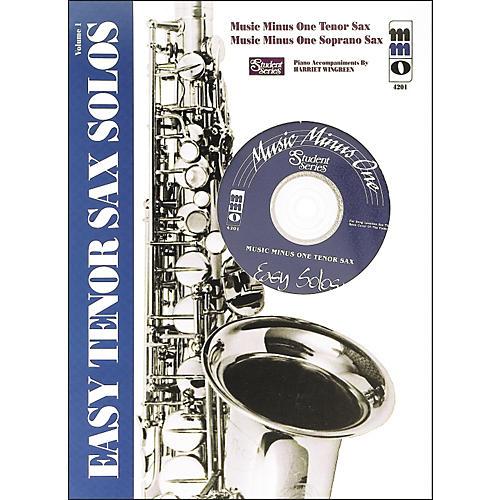 Hal Leonard Easy Tenor Saxophone Solos: Student Edition thumbnail