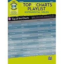 Alfred Easy Top of the Charts Playlist Instrumental Solos Trumpet Book & CD Level 1