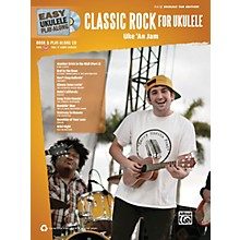 Alfred Easy Ukulele Play-Along Classic Rock Book & CD