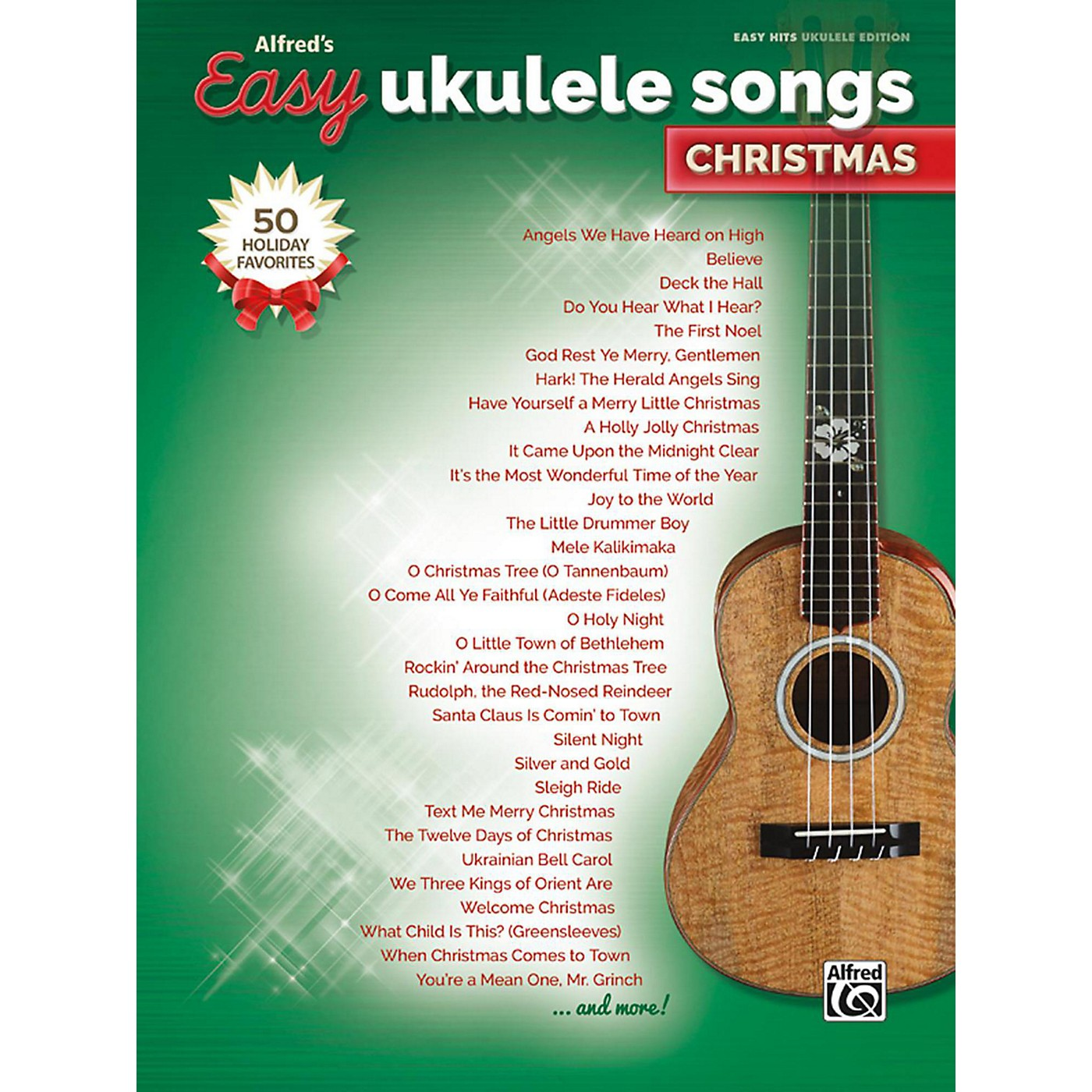 Alfred Easy Ukulele Songs: Christmas Easy Hits Ukulele Songbook thumbnail
