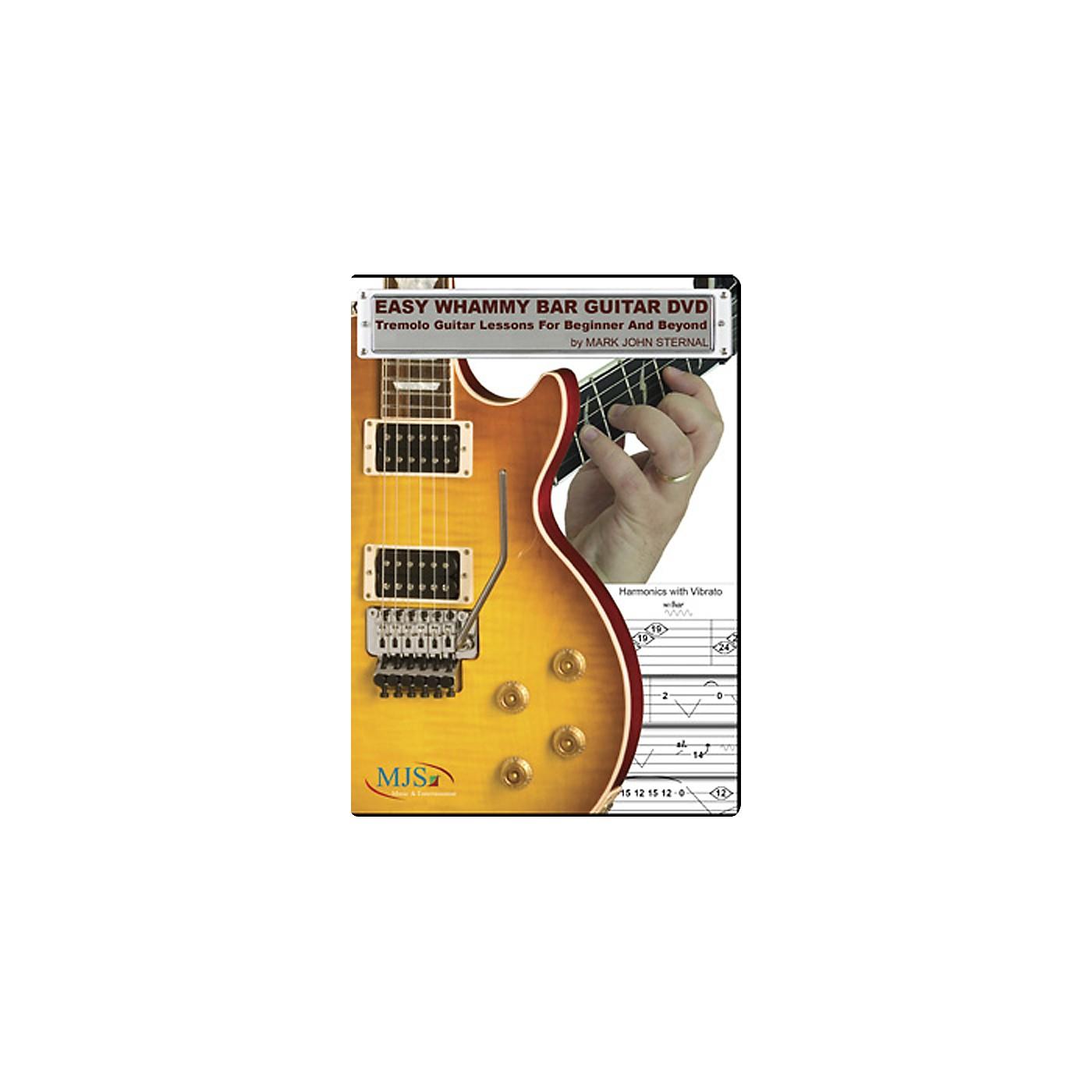 MJS Music Publications Easy Whammy Bar Guitar DVD thumbnail