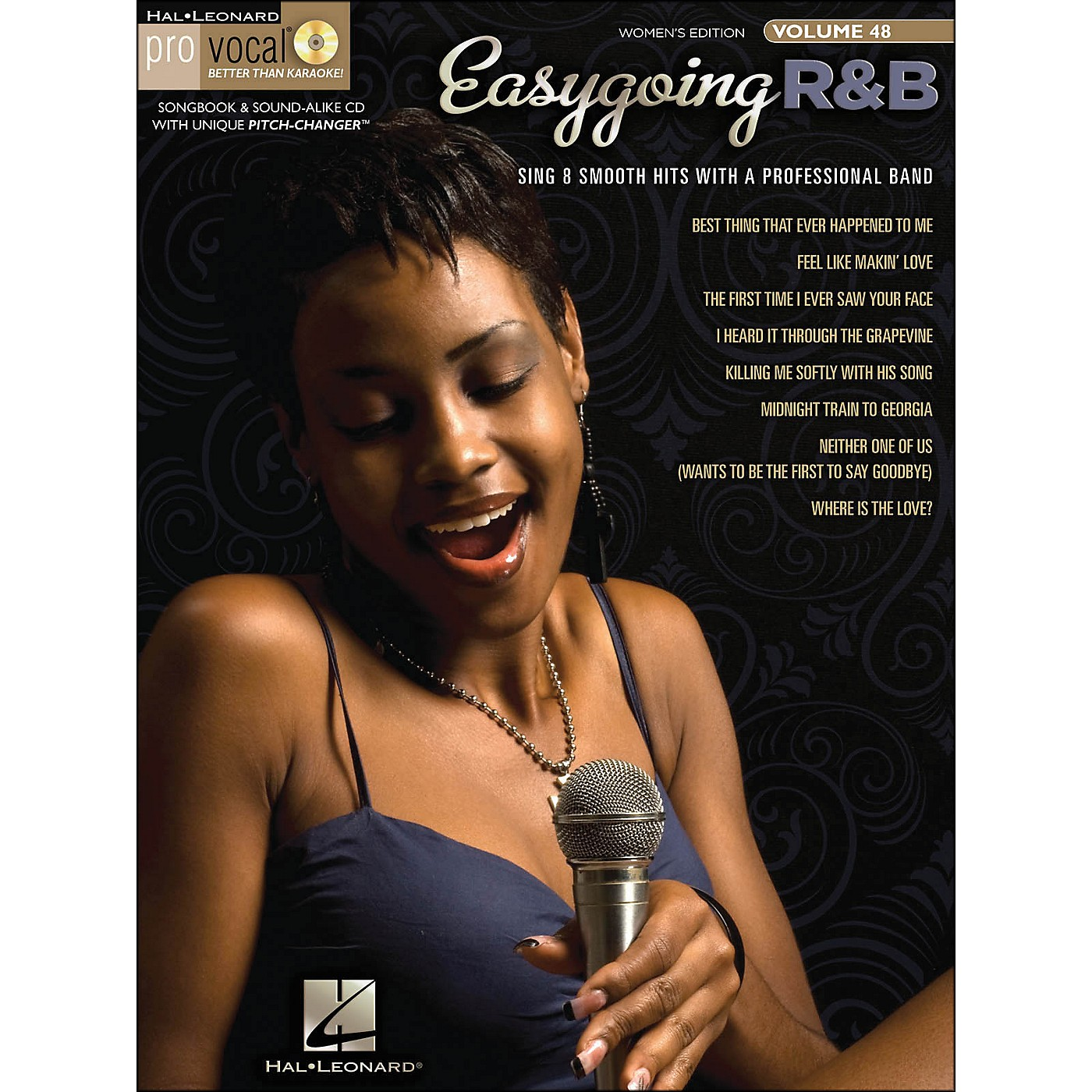 Hal Leonard Easygoing R&B Pro Vocal Songbook & CD for Female Singers Volume 48 thumbnail