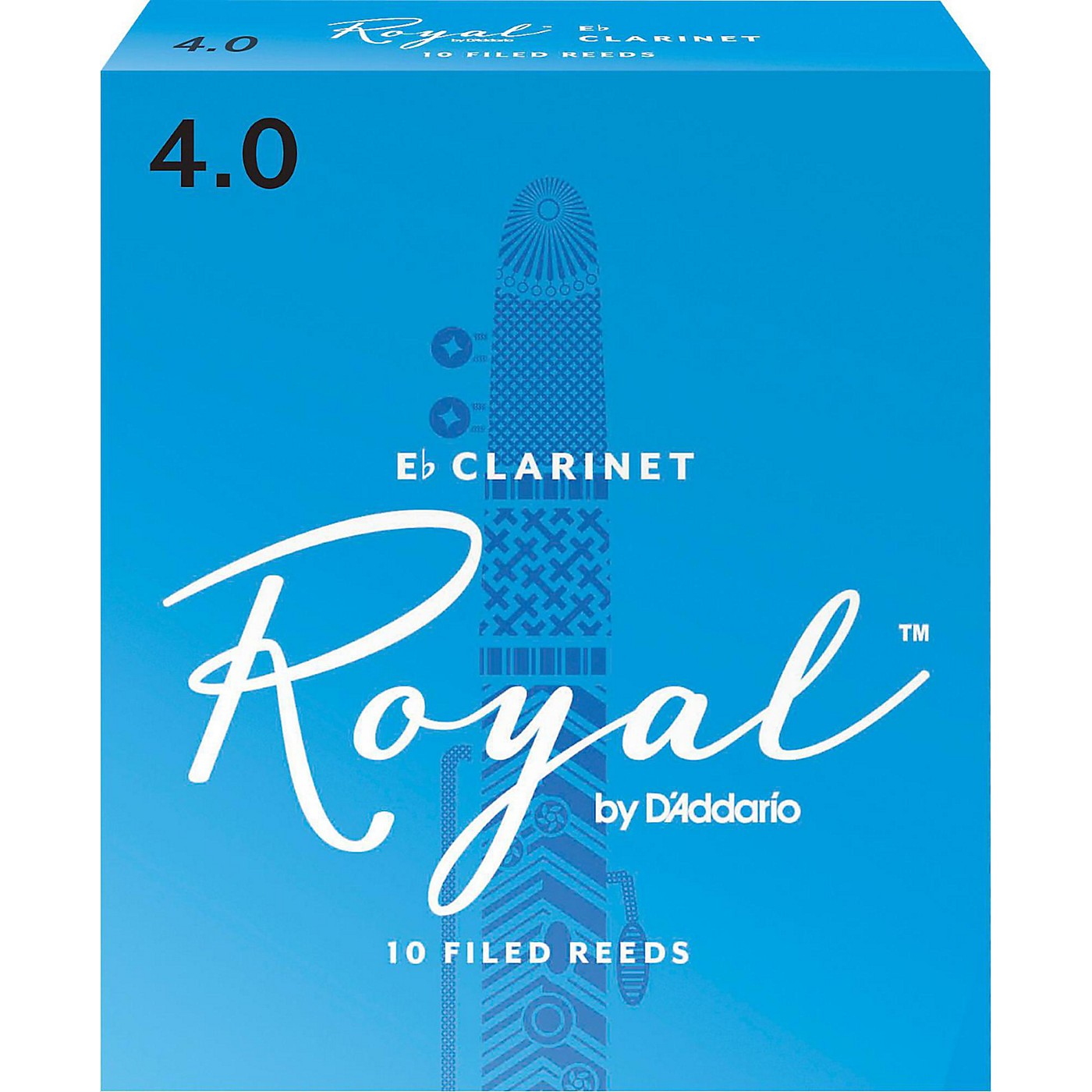 Rico Royal Eb Clarinet Reeds, Box of 10 thumbnail