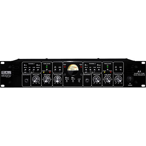 TL Audio Ebony A1 Discrete Class A and Tube Dual Preamp/DI thumbnail