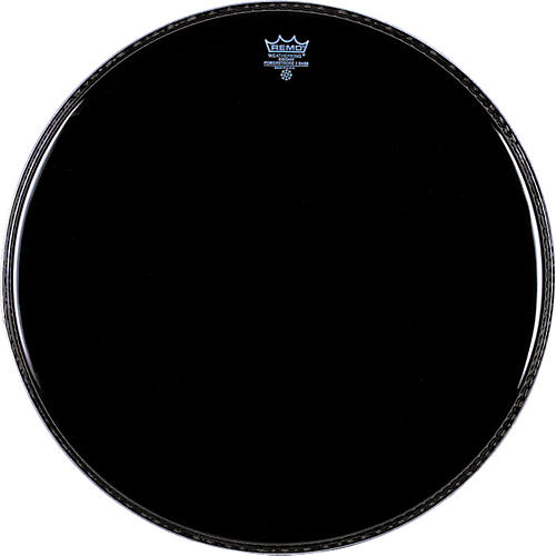 Remo Ebony Powerstroke 3 Resonant Bass Drum Head thumbnail