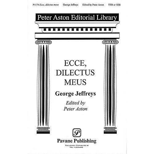 Banks Music Publications Ecce, Dilectus Meus TTB/SSA arranged by Peter Aston thumbnail