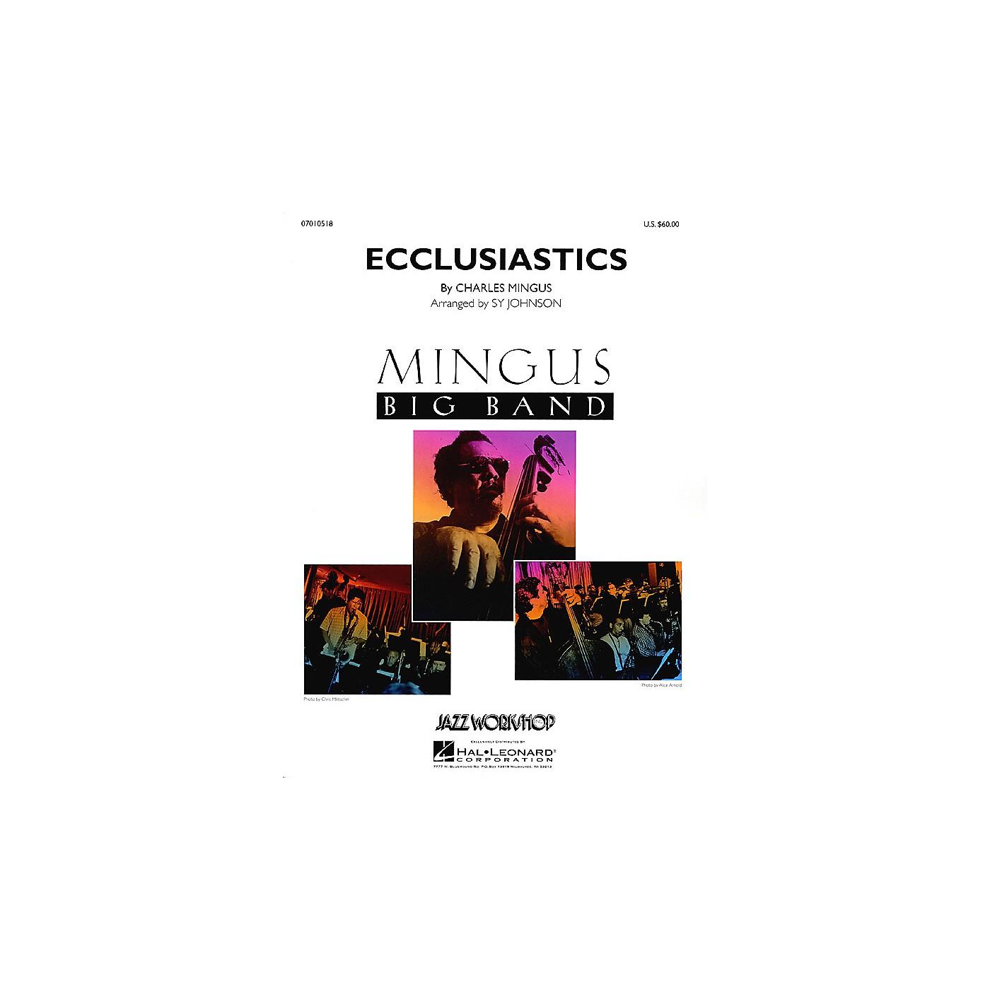 Hal Leonard Ecclusiastics Jazz Band Level 5 Arranged by Sy Johnson thumbnail