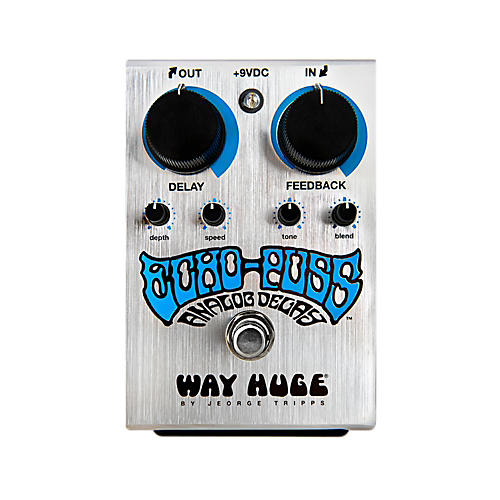 Way Huge Electronics Echo Puss Standard Delay Guitar Effects Pedal thumbnail